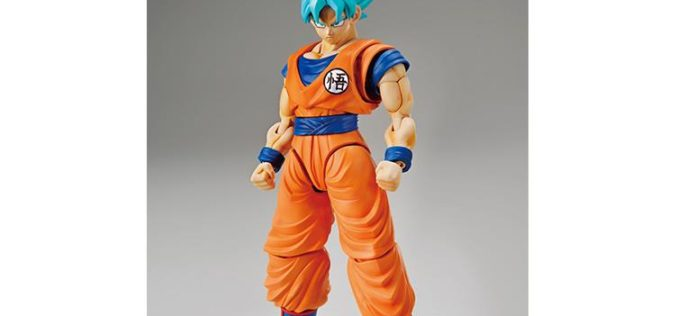 Dragon Ball Super Figure-rise Standard – Super Saiyan God Super Saiyan Goku