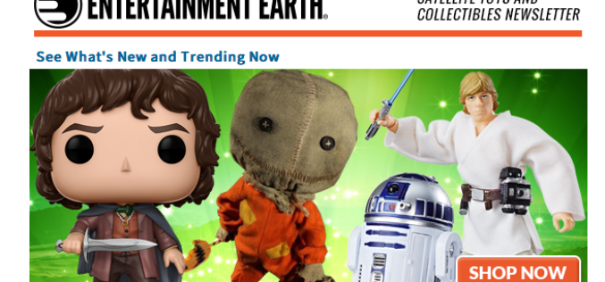 Entertainment Earth: TMNT, Marvel, Star Wars, 300, Superman & More