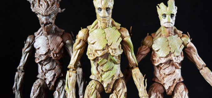 Hasbro Marvel Legends Guardians Of The Galaxy Groot Evolution Pack Review