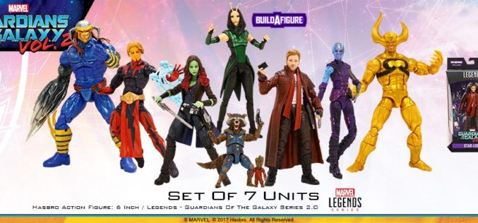 Hasbro Marvel Legends Guardians Of The Galaxy Vol. 2 Wave 2 Pre-Orders