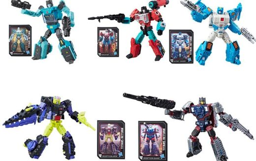 Hasbro Transformers Titans Return Deluxe Wave 4 & Voyager Broadside Figures Now Available