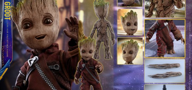 Hot Toys Guardians Of The Galaxy Vol. 2 – Baby Groot Life Size Figure Pre-Orders