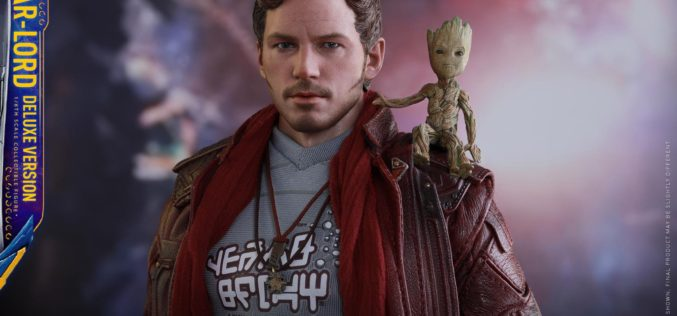 Hot Toys Guardians Of The Galaxy Vol. 2 Star-Lord Sixth Scale Figure