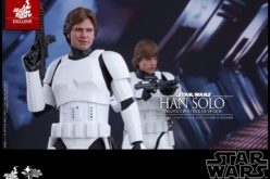 Hot Toys Star Wars Han Solo In Stormtrooper Disguise Sixth Scale Figure