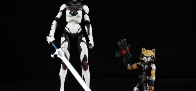 Marvel Shop Exclusive Marvel Select Guardians Of The Galaxy Gamora & Rocket Raccoon 2 Pack Review