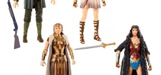 Mattel DC Comics Multiverse 6″ Wonder Woman Movie Figures $19.99 On Amazon