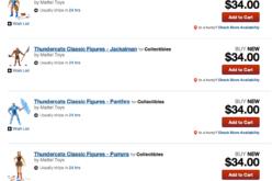 Mattel: ThunderCats Classics Figures Re-listed On GameStop
