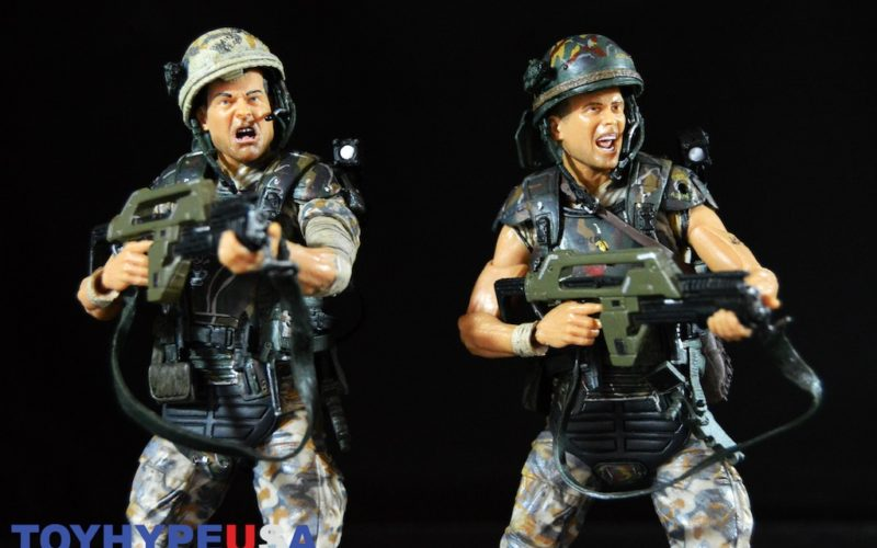 NECA Toys Aliens Colonial Marines 30th Anniversary – Hicks & Hudson 2 Pack Review