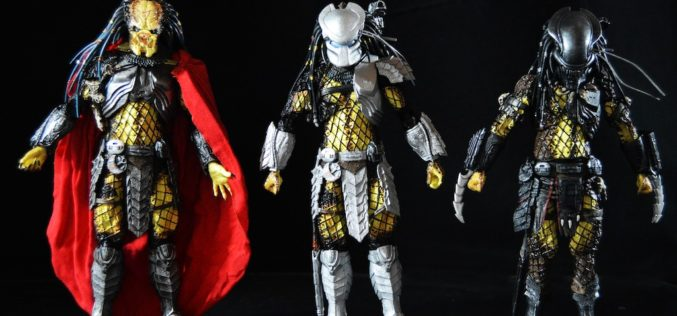 NECA Toys Predator Series 17 Figures – Elder, Serpent Hunter & Youngblood Predator Review