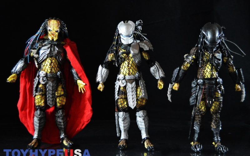 NECA Toys Predator Series 17 Figures – Elder, Serpent Hunter & Youngblood Predator Review