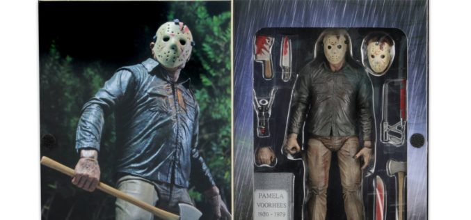 NECA Toys Ultimate Friday The 13th Part 4 Jason Voorhees Figure Packaging Images