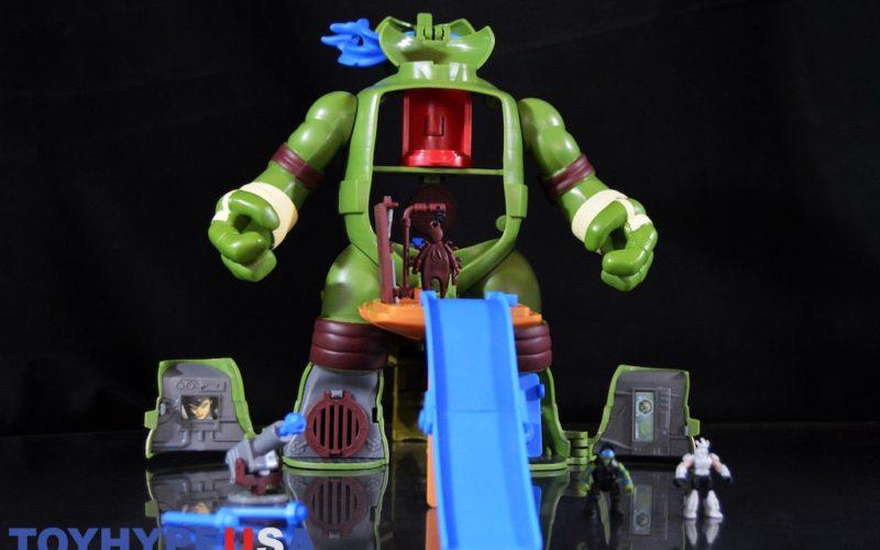 Playmates Toys Teenage Mutant Ninja Turtles Micro Mutants Leo's Surprise Attack Playset Review