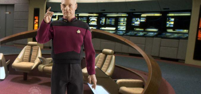 Star Trek: The Next Generation Captain Pircard Sixth Scale Figure