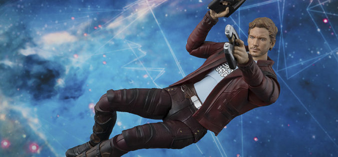 S.H. Figuarts Guardians Of The Galaxy Vol. 2 – Star-Lord Figure Preview