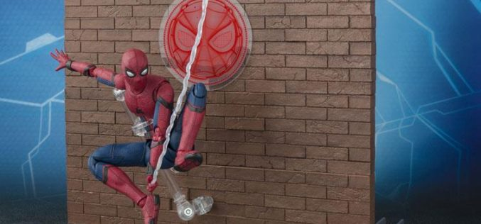 S.H. Figuarts Spider-Man: Homecoming Figure – Act Wall Set Image Update