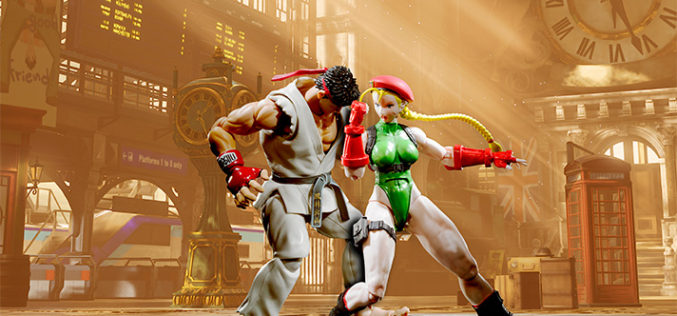 Bandai Tamashii Nations S.H. Figuarts Street Fighter V Rashid & Cammy Pre-Orders
