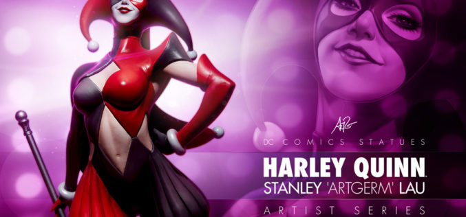 Sideshow Collectibles Previews Artgerm Designed Harley Quinn Statue