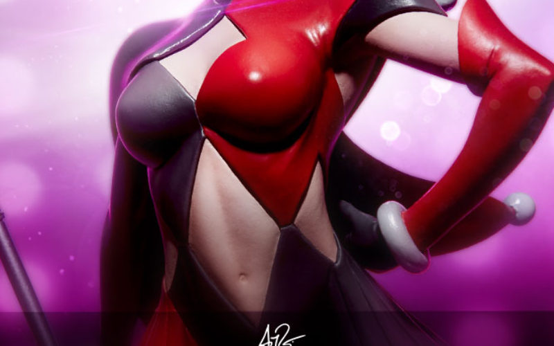 Sideshow Collectibles Artgerm Designed DC Comics Harley Quinn Statue Pre-Orders