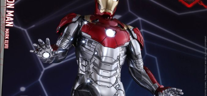 Hot Toys Spider-Man: Homecoming – Iron Man Mark XLVII Power Pose Collectible