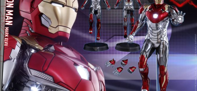 Hot Toys Spider-Man: Homecoming – Iron Man Mark XLVII Power Pose Collectible Pre-Orders