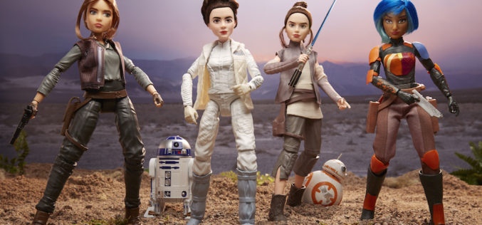 Hasbro Introduces Star Wars Forces Of Destiny Adventure Figures