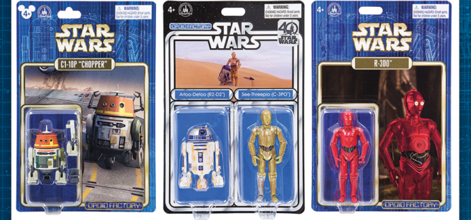Disney Parks Reveals New Star Wars Droid Factory Figures