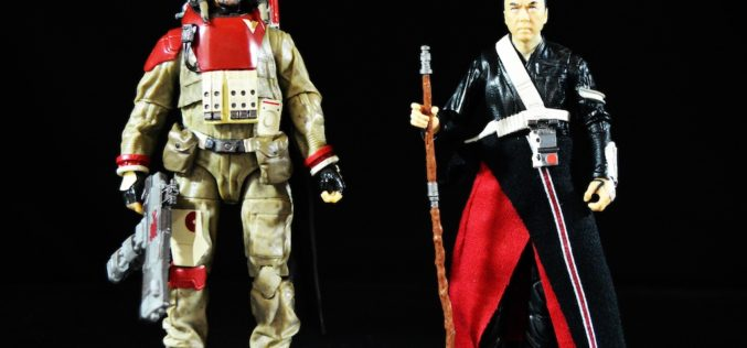 Star Wars Rogue One The Black Series Baze Malbus & Chirrut Imwe 6″ Figures Review