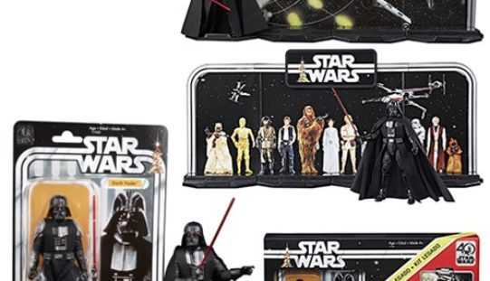 Hasbro Star Wars The Black Series 6″ 40th Anniversary Darth Vader Box Set $34.99 On Amazon