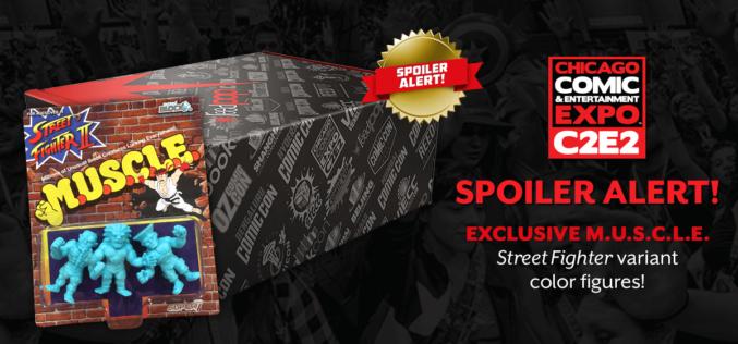 Super 7 & Nerd Block Offering Exclusive Street Fighter M.U.S.C.L.E. Exclusive At C2E2
