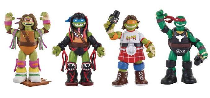 Playmates Toys Teenage Mutant Ninja Turtles WWE Crossover Figures Wave 2