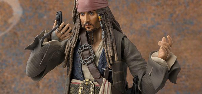 Bandai Tamashii Nations S.H. Figuarts Pirates Of The Caribbean – Jack Sparrow Figure Announced