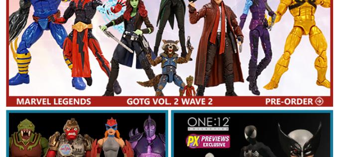 BigBadToyStore: GotG2 Legends, One:12, TMNT, Star Wars Black, Transformers, Batman 1966, Voltron & More