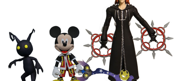 Diamond Select Toys Kingdom Hearts Select Figures Official Images
