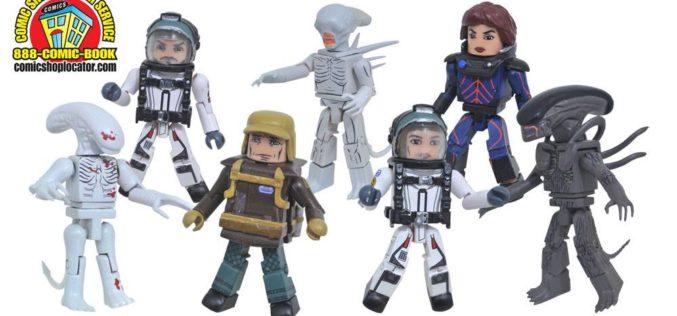 Diamond Select Toys Announces Alien: Covenant Minimates Assortments