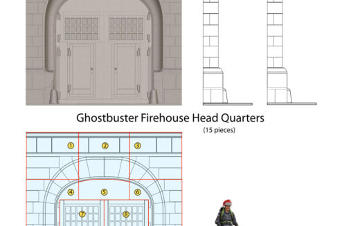 Diamond Select Toys Ghostbusters II Select Firehouse Diorama Product Details