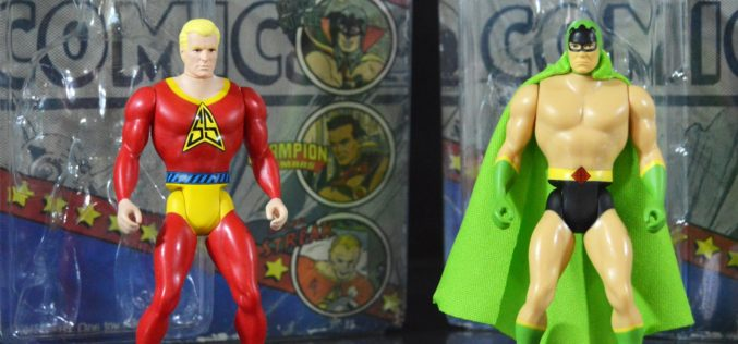 Fresh Monkey Fiction Amazing Heroes Wave 1 Green Turtle & Silver Streak Figures Review