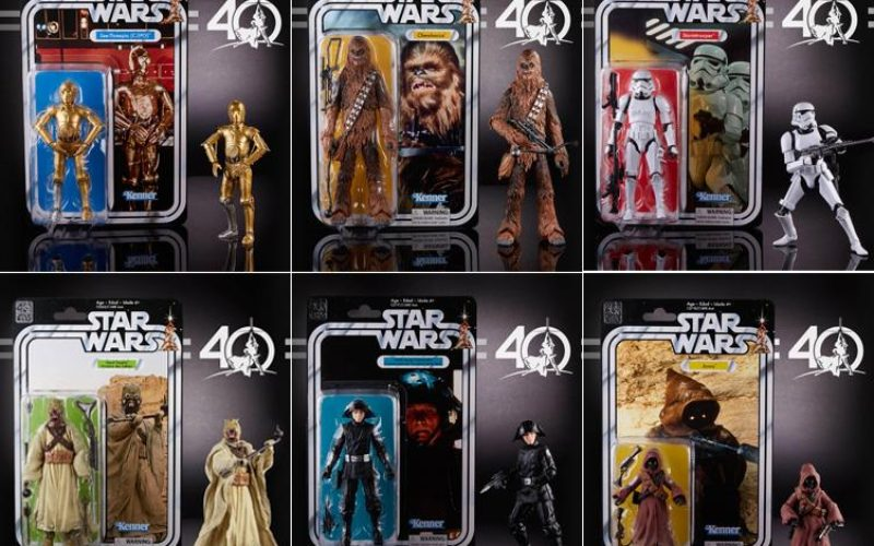 Target Online Offers Hasbro Star Wars 40th Anniversary 6″ Wave 2 Figures