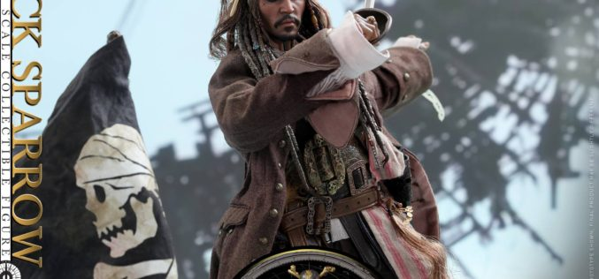 Hot Toys Pirates Of The Caribbean: Dead Men Tell No Tales Jack Sparrow Sixth Scale Figure