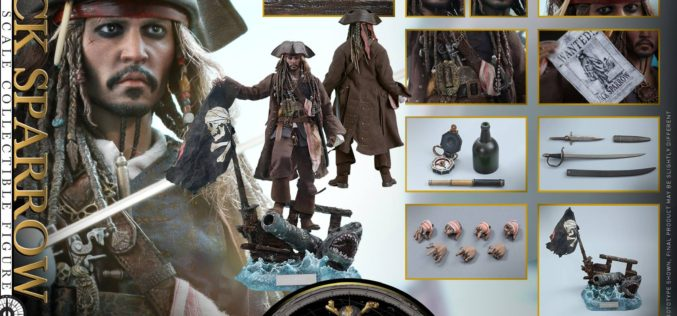 Hot Toys Pirates Of The Caribbean: Dead Men Tell No Tales Jack Sparrow Sixth Scale Figure Pre-Orders