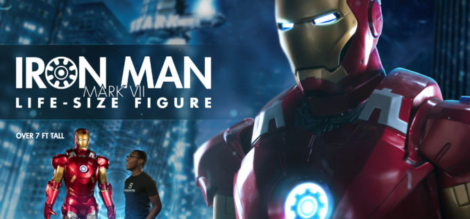 Sideshow Collectibles Life Size Iron Man Mark VII Armor Preview