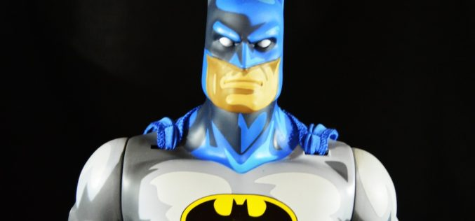 First-Look: JAKKS Pacific Big Figs Tribute Series DC Originals 19-Inch Batman Dark Knight Figure Review
