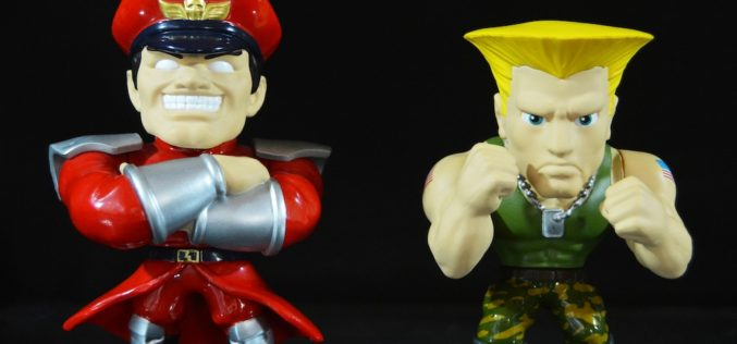 Jada Toys: Street Fighter Metals Die Cast 4″ Figures Review