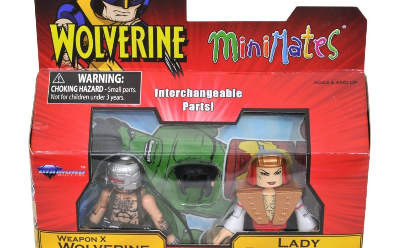 Diamond Select Toys Marvel Minimates Wave 72 Packing Images