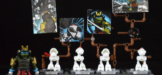 Mega Bloks Teenage Mutant Ninja Turtles Samurai Leonardo Battle Pack Review