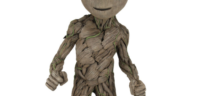 NECA Toys Announces 30″ Tall Guardians Of The Galaxy Vol. 2 Groot Foam Figure