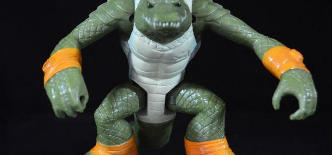 Playmates Toys Teenage Mutant Ninja Turtles Ragin' Leatherhead Figure Review