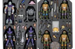 NECA Toys Reveals San Diego Comic-Con 2017 Teenage Mutant Ninja Turtles Exclusive Set (Update)