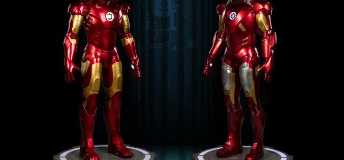 Sideshow Collectibles Life Size Iron Man Mark VII Armor Official Details & Images