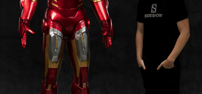Sideshow Collectibles Life Size Iron Man Mark VII Armor Pre-Orders