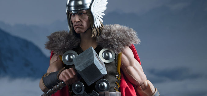 Sideshow Collectibles Thor Sixth Scale Figure Official Images